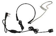 Гарнитура - ларингофон для рации Kenwood