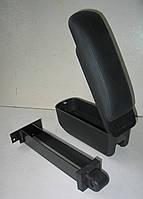 Подлокотник Peugeot Partner 2008+ Botec черный виниловый