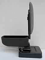 Подлокотник Citroen C4 2004-2011 Botec серый текстильный