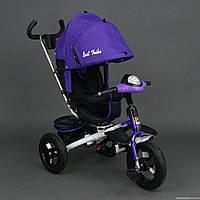 Трехколесный велосипед-коляска Best Trike 6590, Фиолетовый ***