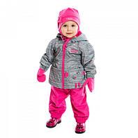 Комплект демисезонный для девочки 06 M S17 Frost Grey PELUCHE & TARTINE