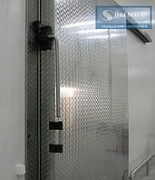 Морозильные одностворчатые распашные двери