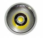 Светодиодный LED светильник 20 Вт накладной  холодный белый квадрат (6500К), фото 2