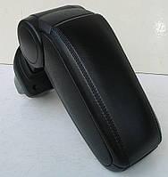 Подлокотник Kia Rio 2006 2006-2012 ASP черный виниловый