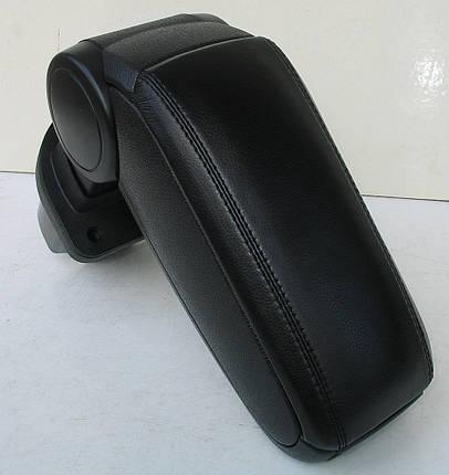 Подлокотник Kia Rio 2006 2006-2012 ASP черный виниловый, фото 2