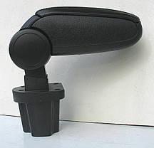 Подлокотник Kia Rio 2006 2006-2012 ASP черный виниловый, фото 3