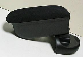 Подлокотник Nissan Juke 2010-2016 Botec черный текстильный