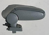 Подлокотник Nissan Tiida 2007+ ASP серый виниловый