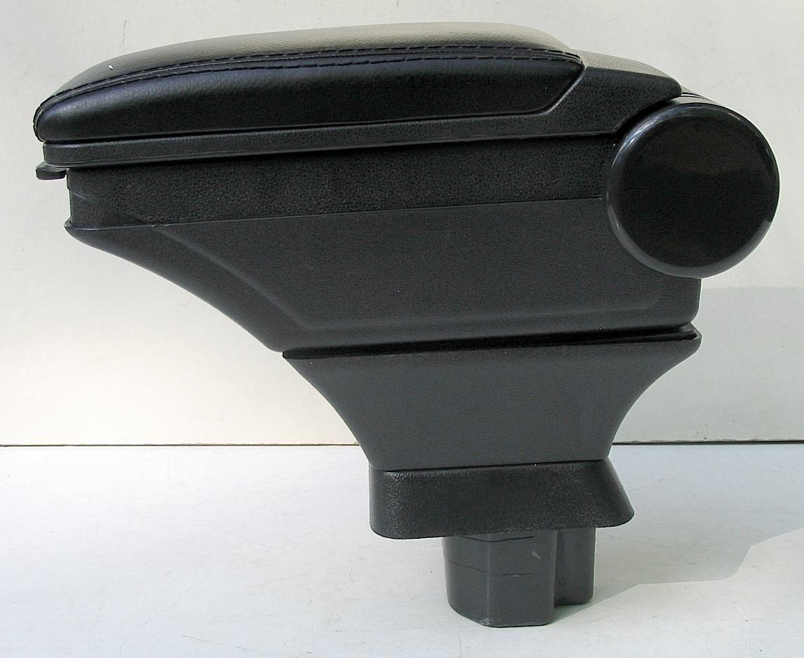 Подлокотник Nissan Tiida 2007+ HODY черный виниловый
