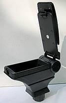 Подлокотник Nissan Tiida 2007+ HODY черный виниловый, фото 2