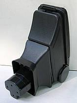 Подлокотник Nissan Tiida 2007+ HODY черный виниловый, фото 3