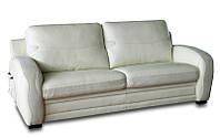 """Кожаный трехместный диван """"ZEUS"""" (Зевс). Модель 409 В. (207 см)"""