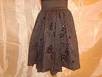 Летняя юбка на девочку 8-10 лет