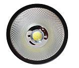 Светодиодный LED светильник 20 Вт накладной  холодный белый квадрат 6500К Черный, фото 2