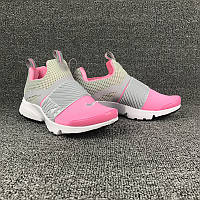 Кроссовки женские Nike Air Presto Extreme D156 серо-розовые