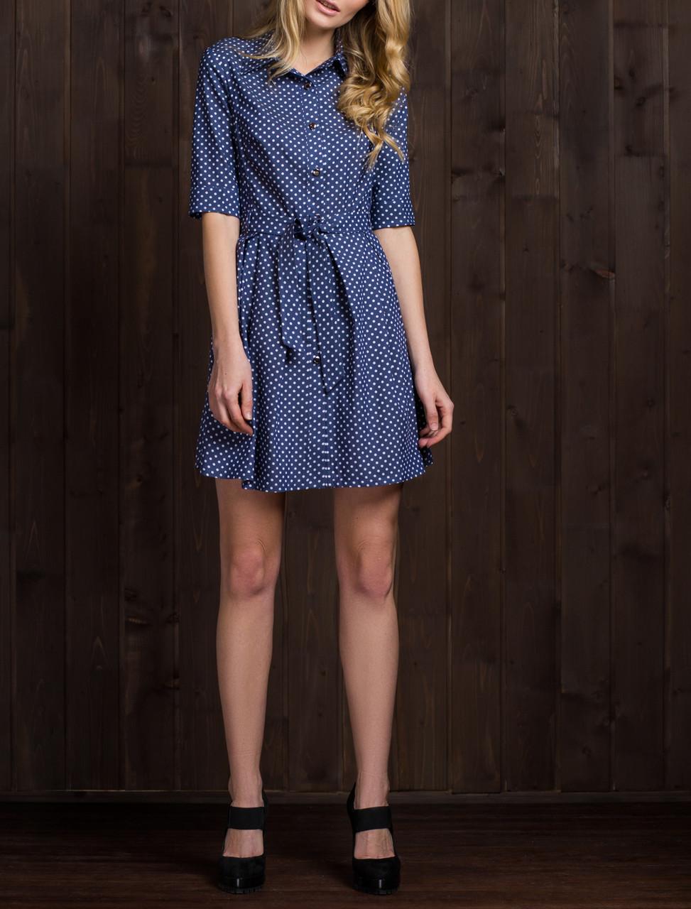 edb7853d498bc37 Женское платье-рубашка