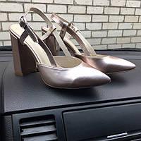 Туфли женские новинка натуральная кожа