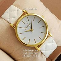 Женские наручные часы Geneva White/Gold/White