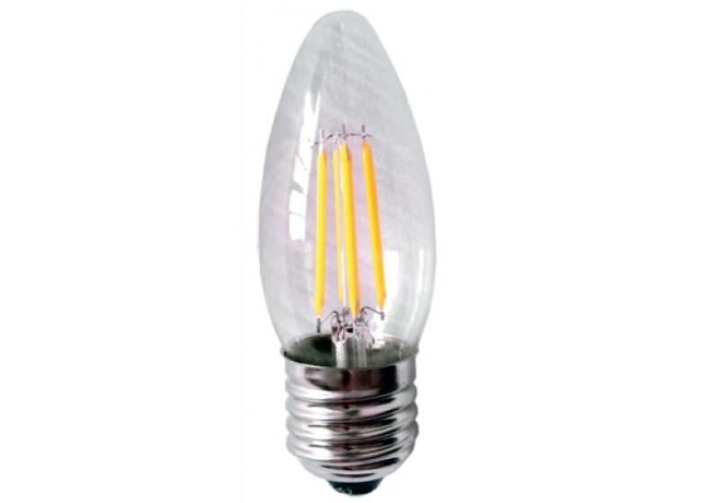 Светодиодная лампа Lemanso 4W C35 E27 420LM 3000K теплый