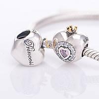 Шарм Pandora Принцесса, серебро