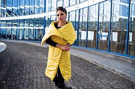 Женская жилетка-одеяло из синтепона
