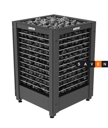 Электрическая печь (каменка)  Harvia Modulo MD180G черная для сауны и бани, фото 2