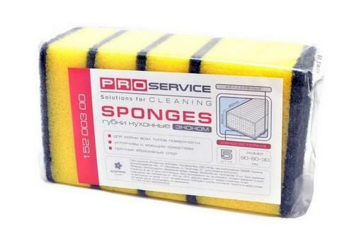 PRO service Губка профилированная для ванной комнаты Standart
