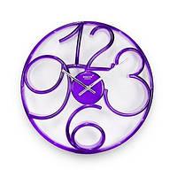 Годинник настінний Rikon №9951 Violet/P/