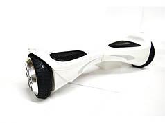 Гироборд Prologix Evo белый, колеса 6,5 дюймов, мощность 700W, до 100 кг, 10 км/ч, Bluetooth, сумка, пульт