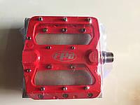 Педаль алюминевая FPD  на проме MTB красная (opt 16.5$)