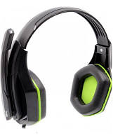 Наушники GEMIX W-330 black/green Gaming