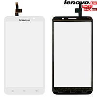 Сенсорный экран (touchscreen) для Lenovo A850+, оригинальный (белый)