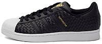 Мужские кроссовки Adidas Superstar Black
