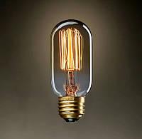 """Ретро лампа Эдисона """"бочонок"""", 60Вт, T45"""