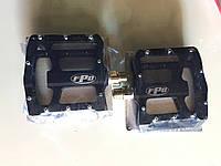 Педаль алюминевая FPD  на проме MTB черная открытая, фото 1