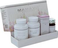 Комплекс Мамавит Арго для лечения мастопатии груди (Токсидонт май, Венорм, Семена лопуха, Мамавит крем)