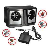 Ультразвуковой электронный отпугиватель грызунов и насекомых Dual Sonic Pest Repeller