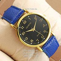 Женские наручные часы Geneva Blue//Gold/Black
