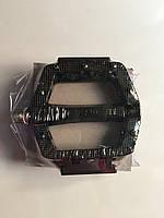 Педаль алюминевая FPD  на проме черная широкая с отражателем, фото 1