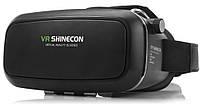 Очки чёрные с пультом 3D виртуальной реальности VR SHINECON VR BOX