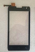 Оригинальный тачскрин / сенсор (сенсорное стекло) для Doogee Titans 2 DG700 (черный цвет)