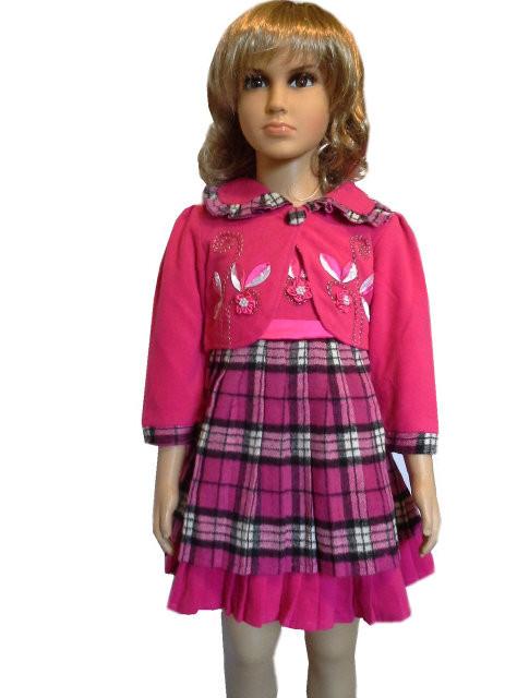 Сукня плісе з жакетом