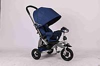 Детский трехколесный велосипед Azimut Crosser T-350 синий***