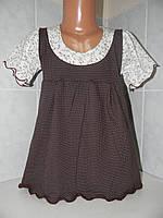 """Платье """"Карамелька"""", стр.кулир, р.80,86,92-98"""