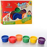 Краски пальчиковые Z0074, 6 цветов