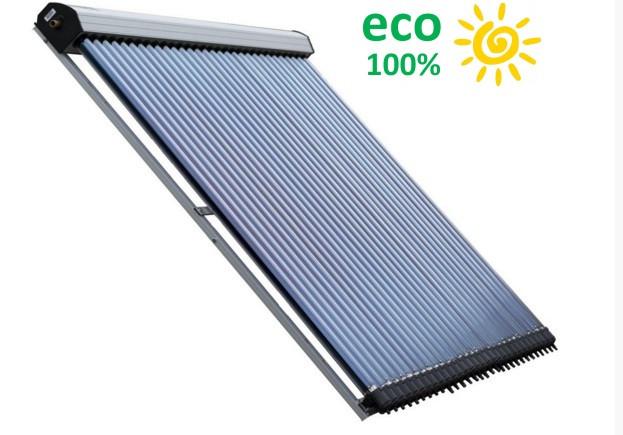 Коллектор вакуумный солнечный STC-2-20  есо100% без задних опор
