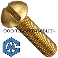 Винт  ГОСТ 17473-80; DIN 85; от М3-М12 Латунь