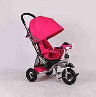 Детский трехколесный велосипед Azimut Crosser T-350 малиновый ***