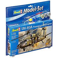 Сборная модель Revell Вертолет UH-60A Transport Helicopter 1:72 (64940)