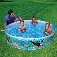 Детский каркасный бассейн Intex 58472 Океанский Риф: 244х46см